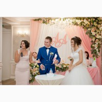Выездная свадебная регистрация.Ведущая церемонии - Татьяна Катрич