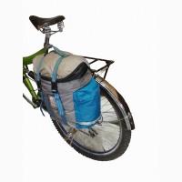 Вело сумка на багажник. V = 16 л + 1 л карман. Вело туризм