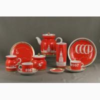 Куплю дорого фарфор СССР, старую посуду, фарфоровые статуэтки