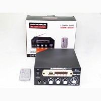 Усилитель BM AUDIO BM-800BT USB Блютуз 300W+300W 2х канальный Караоке