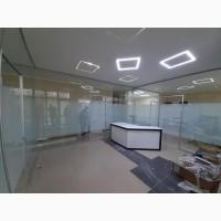 Розмежування Скляними Перегородками Офісу Кабінету Магазину Банку Приміщення