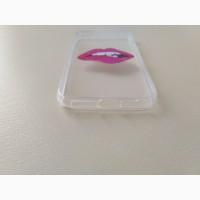 Чехол Бампер на iphone 5 Губы