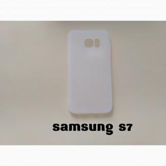 Чехол Samsung S7 Белый