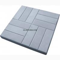 Формы для тротуарной плитки 12 кирпичей 50х50