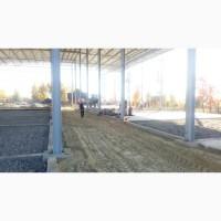 Будівництво площадок, майданчиків, під#039; їзних доріг, рамп, платформ
