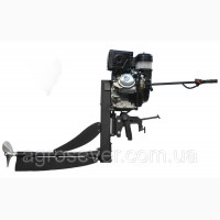Подвесной лодочный мотор mrs - 16 болотоход