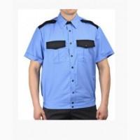 Рубашка с коротким рукавом Охрана комбинированная