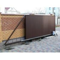Производство и установка откатных ворот Запорожья