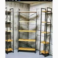 Изготовление и продажа стеллажей, витрин, этажерок в Запорожье