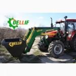 Погрузчик на трактор МТЗ 1221, 1523 (100-140 л.с.). -Деллиф СуперСтронг 2000