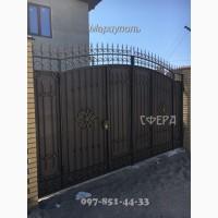 Кованые ворота, распашные, откатные, решетчатые, металлические калитки, под заказ