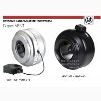 Канальные центробежные вентиляторы серии VENT (Soler Palau)