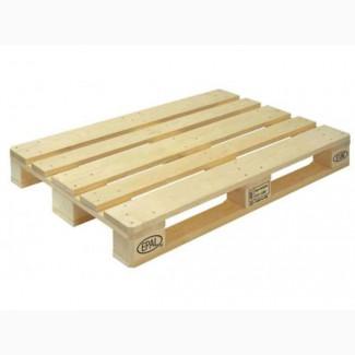 Поддоны деревянные 1200х800, 1, 2, 3 сорт