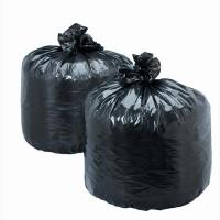 Мешки полиэтиленовые чёрные для упаковки товара 65х100, 70 мкм