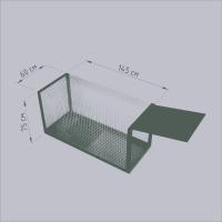 Клетка собаколовка. Живоловушка для собак. Живоловка 1, 5 м. Безопасный отлов собак