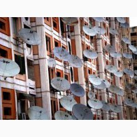 Установка спутникового телевидения в Малиновском районе г. Одессы