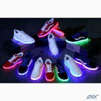 Продажа кроссовок со светящейся подошвой от прямого поставщика