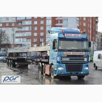 Негабаритные перевозки по территории Украины и Западной Европе