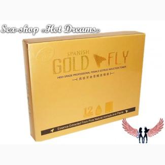 Сверхмощные возбуждающие капли Золотая Мушка только для женщин (упаковка 12 штук)