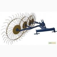 Грабли ворошилки (Солнышко) 4-ёх колесные для трактора Польша