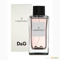 Dolce Gabbana 3 L Imperatrice туалетная вода 100 ml. (Дольче Энд Габбана 3 Императрица)