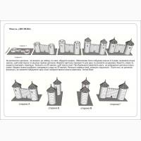 Конструктор «Две Башни», из керамических кирпичиков