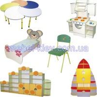 Столы, стулья, кровати для детского сада