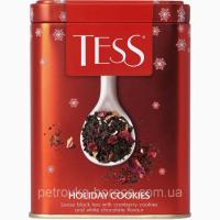 Чай Черный TESS Holiday cookies 110гр Банка
