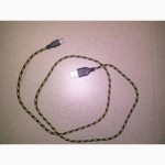 Micro USB Кабель 1 метр шнур плетенный
