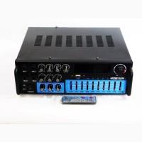 Мощный домашний усилитель звука Rose Mark AV-327BT + USB + КАРАОКЕ 2микрофона Bluetooth