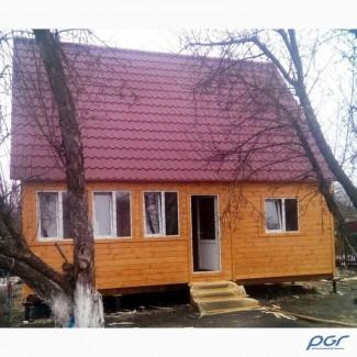 Домик дачный из дерева или бытовка недорого и быстро