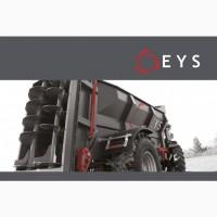 Трейлер для распределения твердого навоза EYS