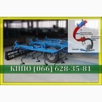 КППО 4 культиватор для сплошной обработки почвы прицепной с пружинными боронами