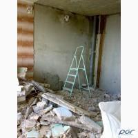 Демонтаж перегородок, сантехкабин в Харькове