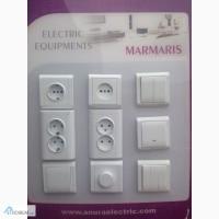 Продаю розетки выключатели, фурнитура, автоматы ANURA в Одессе. все с гарантией 1 год