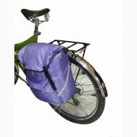 Вело сумка на багажник. V = 14 л = 2 л карманы. Вело туризм
