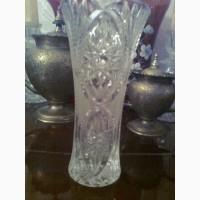 Хрустальная ваза.Ретро