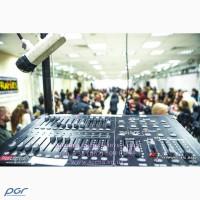 Аренда звукового оборудования: акустические системы, Backline, микрофоны (шнуровые, радио)