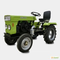 Трактор DW 120 (ДВ 120). 12 л.с. Дизель. Электростартер. Водяное охлаждение