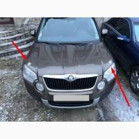 Наклейка на авто Крылья на зеркала заднего вида, на эмблему авто