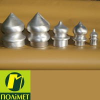 Алюмінієві наконечники до металевих огорож