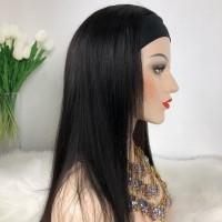 Парик на повязке - парик из 100% натуральных волос на повязке-ленте 104
