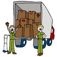 Перевозка мебели от компании Грузоперевозки-24