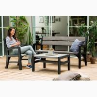 Мебель из искусственного ротанга Montero Triple Seat Bench Allibert, Keter