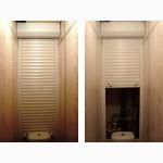 Сантехнические рольставни, роллеты в ванную комнату, туалет, на балкон