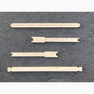 Рамки для ульев заготовки Дадан 300 Евро с отверстиями