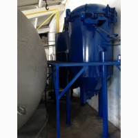 Фильтр растительного масла вертикальный намывной перлитом