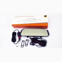 DVR D038 Full HD Зеркало с видео регистратором с камерой заднего вида