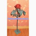 Кованые розы сувенир подарок для девушки в Новый год 8 марта Кованая роза кована троянда