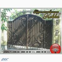 Гаражные, сварные, кованые ворота, художественная ковка, кованые изделия